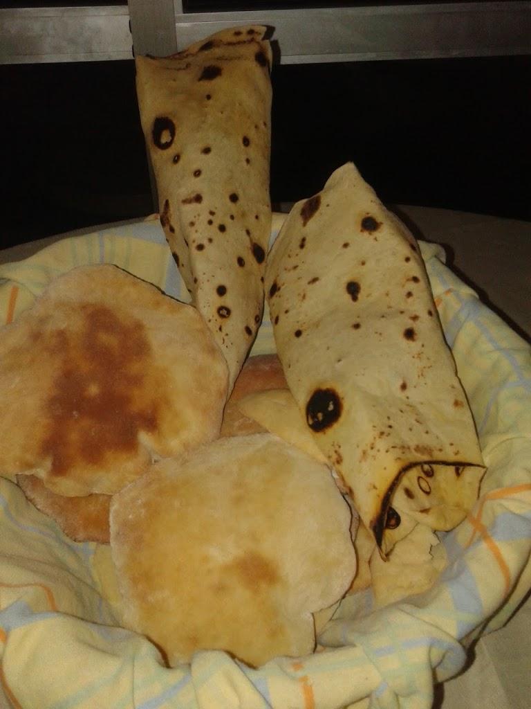 Receita de Pão Árabe da Bisa